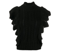 'Fashion Show' Pullover mit Rüschen