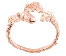 'Acorn and Leaf' Ring