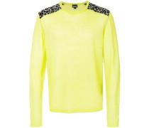 leopard imprints sweatshirt