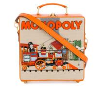 'Monopoly Train' Clutch