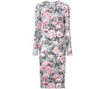 floral print longsleeved dress