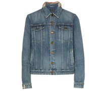 Distressed-Jeansjacke