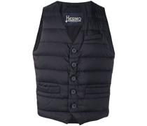 zipped gilet jacket