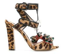 'Ginger Leopard' Sandalen