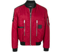 puffy pilot bomber jacket