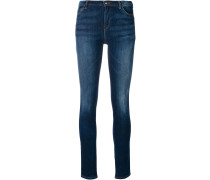 Skinny-Jeans mit Washed-Optik