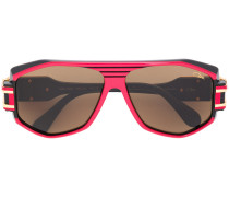 Eckige Oversized-Pilotenbrille