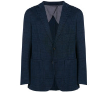 check pattern blazer
