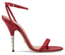 Sandalen mit geflochtenen Riemchen