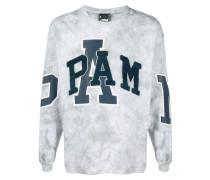 'Elements' Sweatshirt mit Batik-Print
