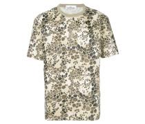 T-Shirt mit Alligator-Print