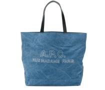 A.P.C. Shopper mit Logo