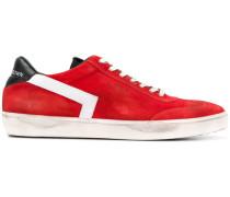 Wildleder-Sneakers mit Besatzstreifen
