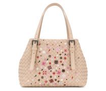 Kleine 'Cesta' Handtasche mit Nerzbesatz