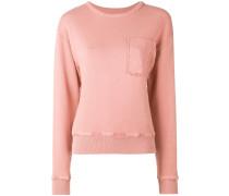 Sweatshirt mit Anker-Patch