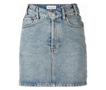 v-neck mini skirt