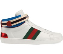stripe Ace high-top sneakers