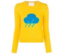 Pullover mit Wetter-Motiv