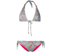Triangel-Bikini mit Paisleymuster