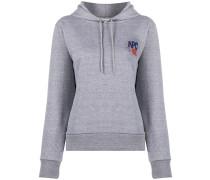 A.P.C. logo print hoodie