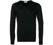V-neck lightweight sweater