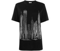 P.A.R.O.S.H. Verziertes T-Shirt