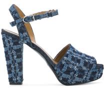 'Mme Rykie' Jeans-Sandalen