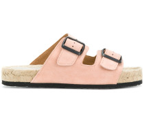 belted style slippers