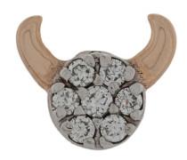 14kt 'Taurus - The Bull' Rotgoldohrstecker