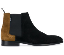 two-tone chelsea boots