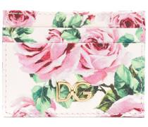 floral print card holder