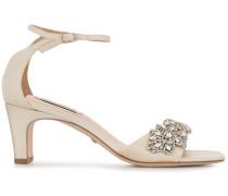 'Alison' Sandalen mit Kristallen