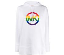 Kapuzenpullover mit Regenbogen-Logo