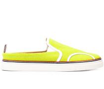 Slip-On-Sneakers mit Tennisdesign