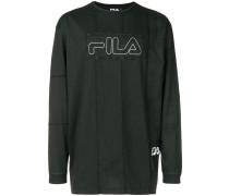 X Fila Sweatshirt mit Logo-Patch