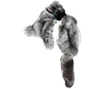 'Silber Fuchs' Fuchspelzschal