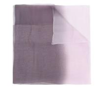 Transparenter Schal mit Farbverlauf