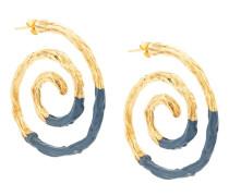 Ohrringe im Kontrast-Look