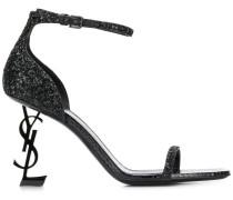 'Opyum 85' Sandalen mit Glitter