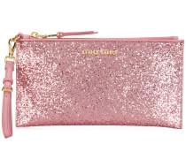 Portemonnaie im Glitter-Look