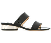Lola sculpted heel sandals