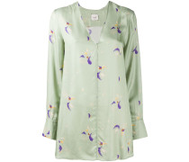 Hose im Pyjama-Look