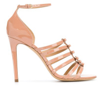 Stiletto-Sandalen mit Schleifen