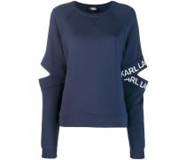 Sweatshirt mit Cut-Outs
