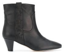 star embellished ankle boots