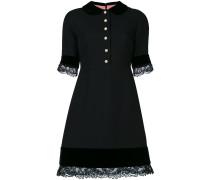 Kleid mit Spitzen-Details