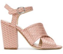 ankle strap peep toe sandals