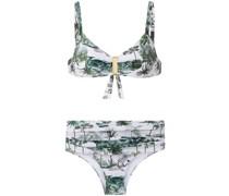 'Anne' Bikini mit Print