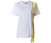 T-Shirt mit Rüschendetails