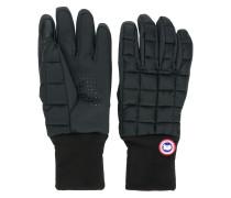 Gefütterte Handschuhe mit Logo-Patch